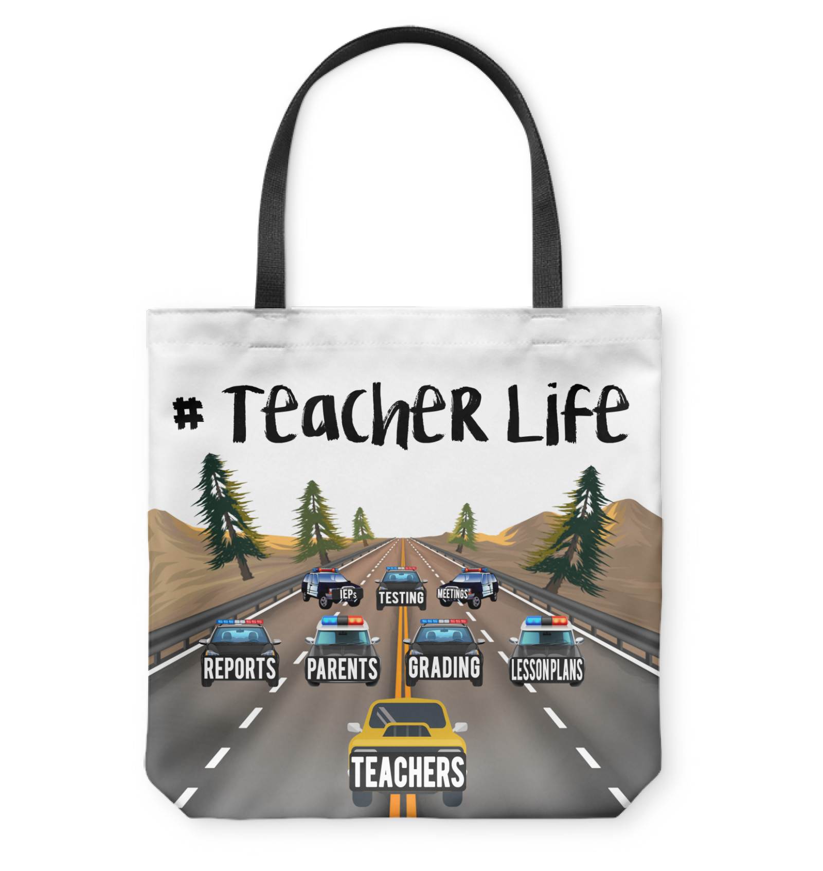 VIRA teacherlife tote bag for awesome teachers
