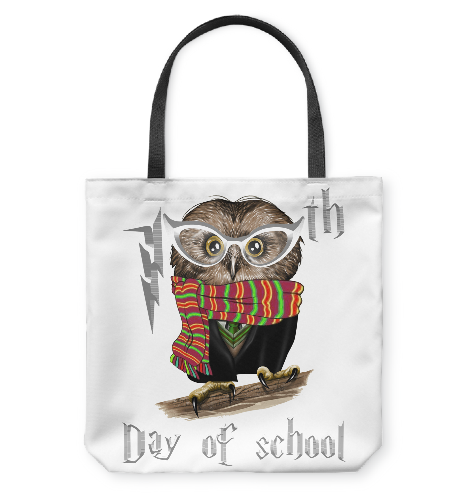 VIRA cool owl tote bag for awesome teachers