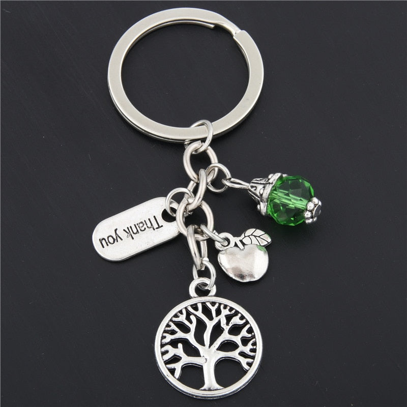 Tree Of Life Thank You Teachers Keychain - Best Gift for Teachers