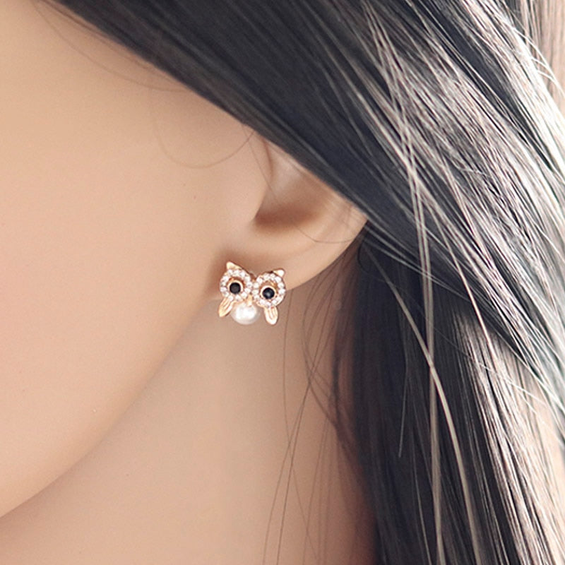 Cute owl earings for awesome women