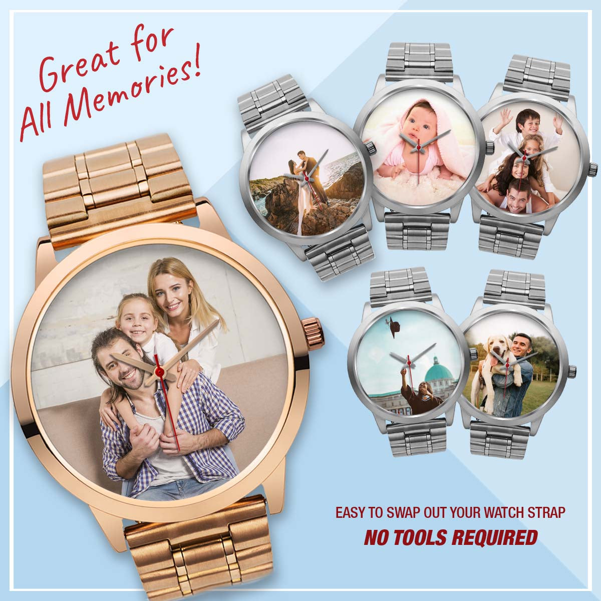 PERSONALIZED  Watch - Family