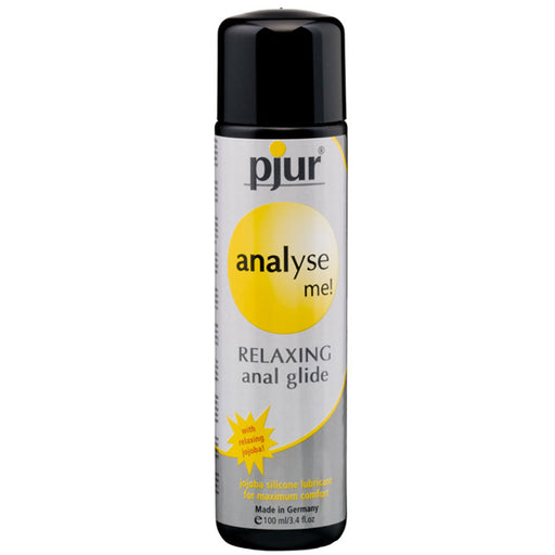 Pjur Analyse Me Lubrifiant Silicone Anal Relaxant