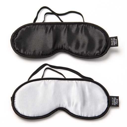 Fifty Shades of Grey Soft Blindfold Twin Pack