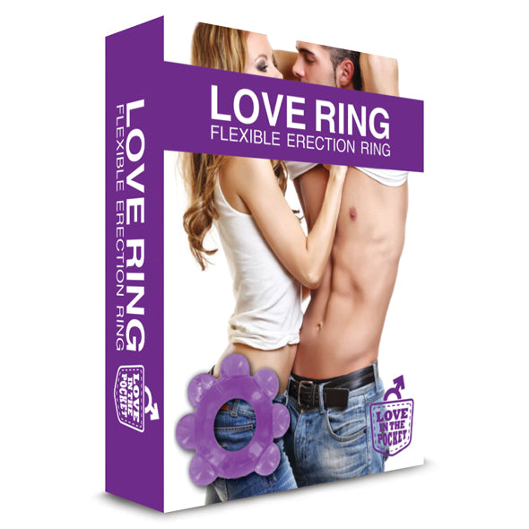 Love in the Pocket Love Ring Erection