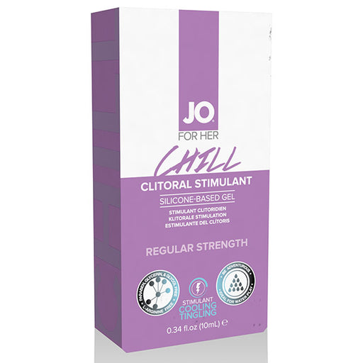 System JO For Her Gel Stimulant Clitoridien Refroidissement Chill