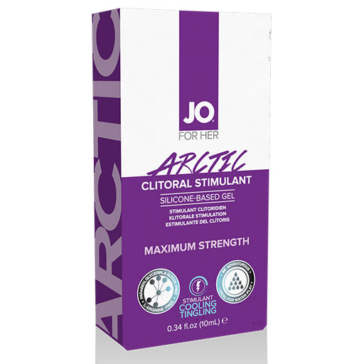 System JO For Her Gel Stimulant Clitoridien Refroidissement Arctic