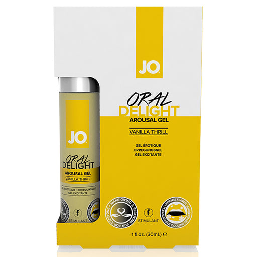 System JO Delight Gel Oral Stimulant