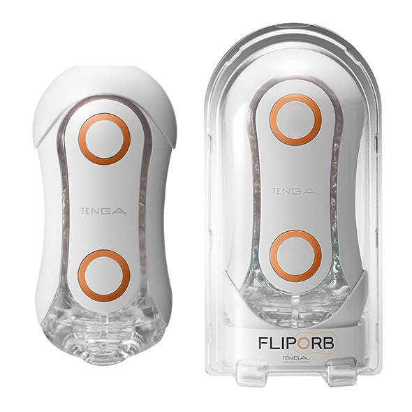 Tenga Flip Orb Masturbateur Orange Crash