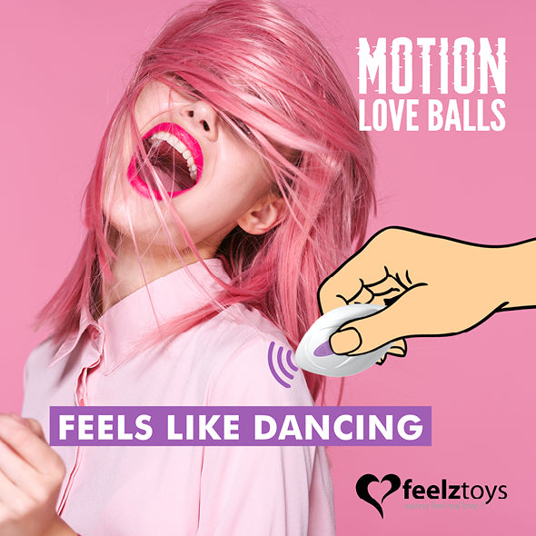 Feelztoys Remote Controlled Motion Love Balls Twisty - Erotes.fr
