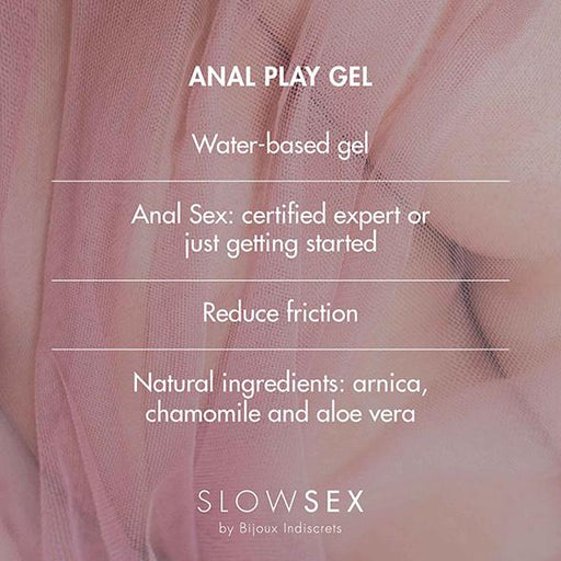 Bijoux Indiscrets Slow Sex Play Gel Anal - Erotes.be