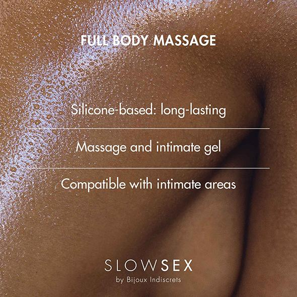 Bijoux Indiscrets Slow Sex Full Body Massage Lubrifiant - Erotes.be