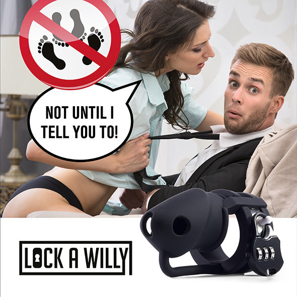 Lock-a-Willy Cage à Pénis