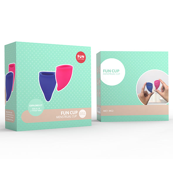 Fun Factory Coupe Menstruelle Bleu Et Rose