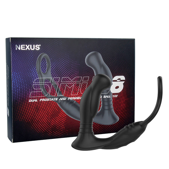 Nexus Simul8 Vibrating Dual Motor Anal Cock and Ball Toy - Erotes.fr