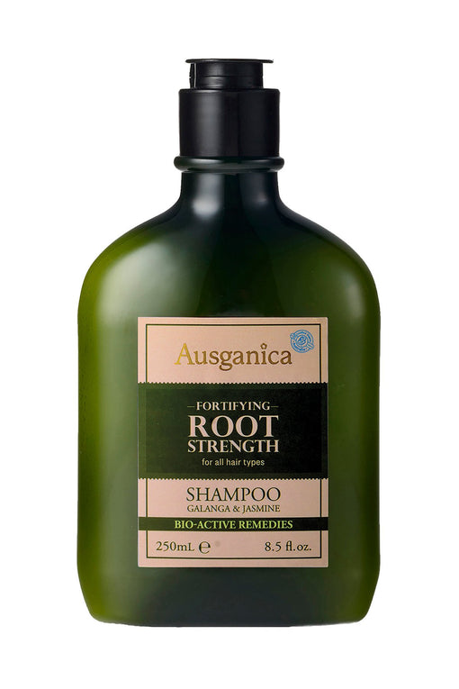 Root Strength Organic Shampoo for damaged or thinning hair.