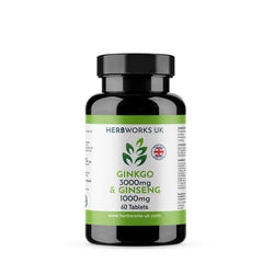 Ginkgo 3000mg and Ginseng 1000mg