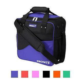 Ebonite Basic Bowling Bag, 1 Ball Tote Bowling Bag
