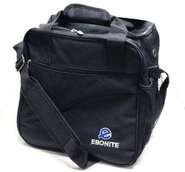 Ebonite Escort Tenpin Bowling Bag, 1 Ball Tote Bowling Bag