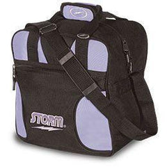 Storm Single Tote Purple & Black