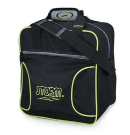1 Ball Tote Bowling Bag - Storm Solo Single Lime, Grey & Black