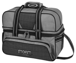 Storm 2 Ball Deluxe Bag, 2 Ball Tote Bowling Bags