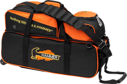 Hammer 3 Triple Tote With Pouch, 3 Ball Bowling Bags