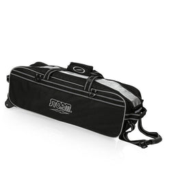 Storm 3 Ball Black Tournament Bag, 3 Ball Bowling Bags