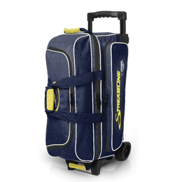 Storm Streamline 3 Ball Navy Yellow Grey, 3 Ball Bowling Bags