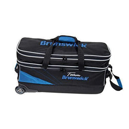 Team Brunswick Triple Roller, 3 Ball Bowling Bags