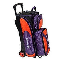Brunswick Flash X Triple Roller Mulitcolour, 3 Ball Bowling Bags