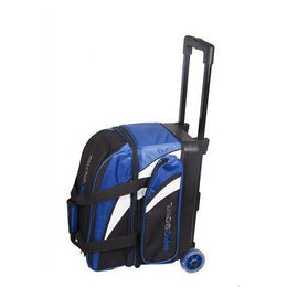 Pro Bowl Double Ball Roller Bag - Blue, 2 Ball Roller Bags