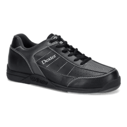 Dexter Ricky 3 Black Alloy, Mens Bowling Shoes