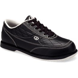 Dexter Turbo Black Bowling Shoe, Mens Bowling Shoes