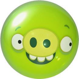 Angry Birds Bowling Ball - Green, Polyester Bowling Balls