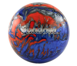 Probowl Blue Orange Silver Tenpin Bowling Ball