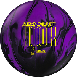 Hammer Absolut Hook 15lbs Only, Reactive Bowling Balls