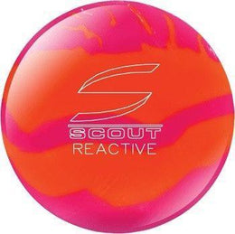 Scout Orange & Pink Reactive Bowling Ball, Reactive Bowling Balls