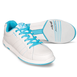 Womens Bowling Shoes - KR Satin Blue