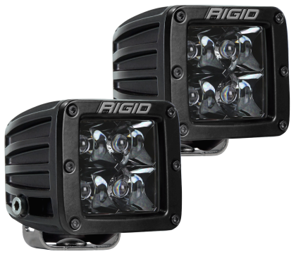 Rigid Industries D-Series Midnight Edition - Spot - Set of 2