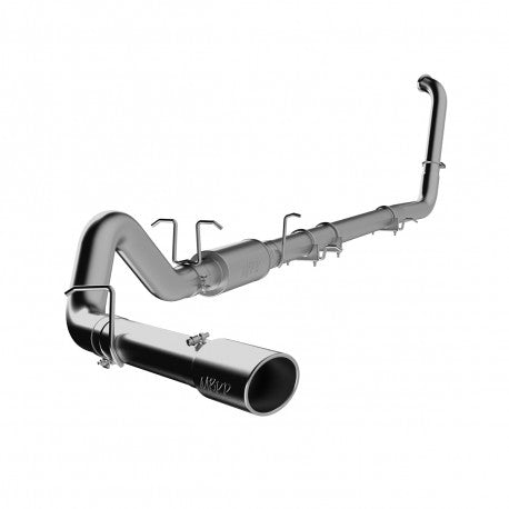 "FORD 03-07 6.0L MBRP 4"" TURBO-BACK EXHAUST SYSTEM S6212 - P-PLM-SLM-AL-409"