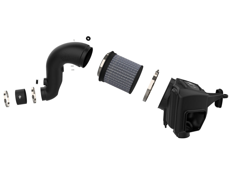 Dodge 07.5-09 L6-6.7L AFE Diesel Elite Momentum HD Cold Air Intake System w/Pro DRY S Filter Media