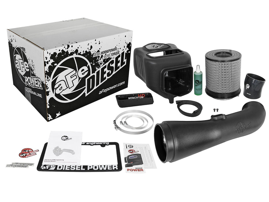Dodge 10-12 L6-6.7L AFE Diesel Elite Momentum HD Cold Air Intake System w/Pro Filter Media