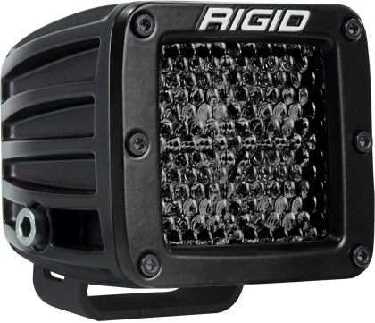 Rigid Industries D Series PRO Midnight Edition - Spot - Diffused - Pair