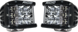 Rigid Industries D-SS - Spot - Set of 2 - Black Housing