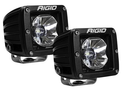 Rigid Industries Radiance Pod White Backlight - Pair