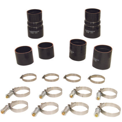 BD Diesel Intercooler Hose & Clamp Kit - 1999-2003 Ford 7.3L PowerStroke