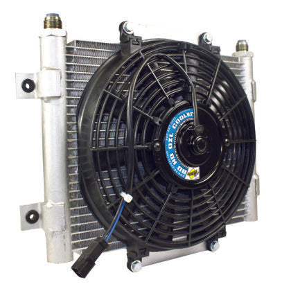 BD Diesel Xtrude Trans Cooler w/Fan 5.5in