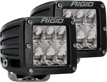 Rigid Industries D2 - Driving - Set of 2