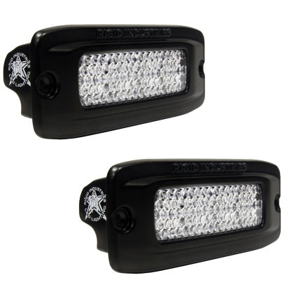 Rigid Industries SRQ - Flush Mount - Diffused - Back Up Light Kit
