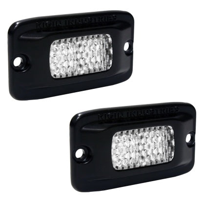 Rigid Industries SRM - Flush Mount - Diffused - Back Up Light Kit